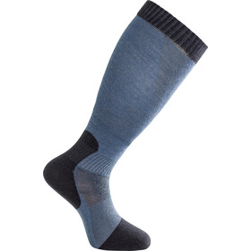 Woolpower Skilled Liner Knee-High Socks Dark Navy/Nordic Blue
